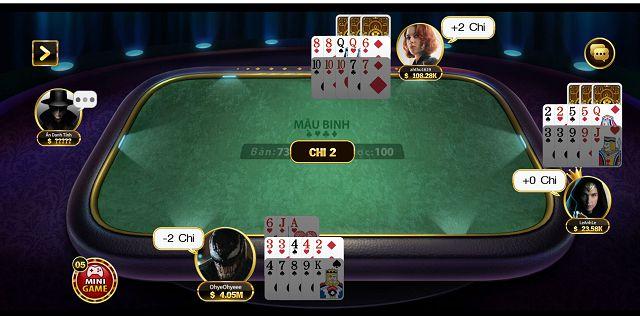 chơi mậu binh xập xám tại game bài go88