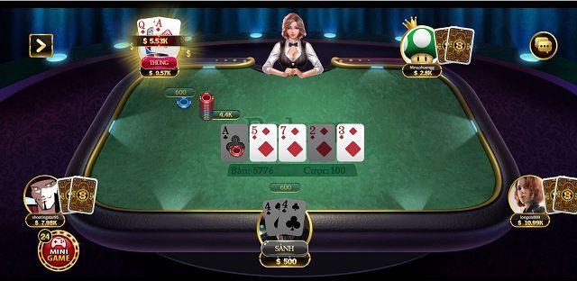 chơi poker online tại game bài go88