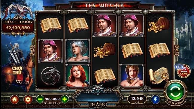 chơi game the witcher nổ hũ go88