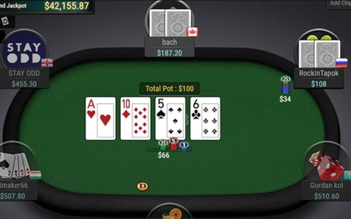 chơi poker tại cổng game bài nhà cái go88