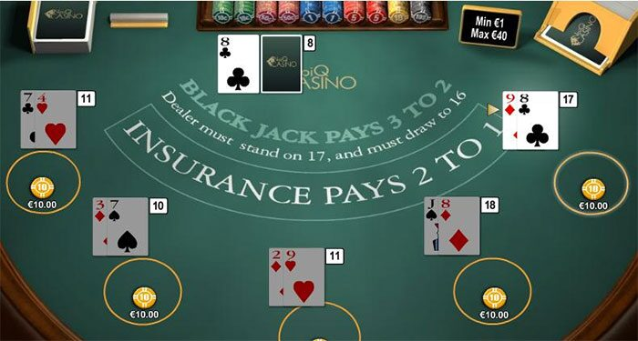 chơi blackjack tại nhà cái game bài go88
